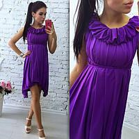 Платье- трансформер модное в разных цветах ткань масло MIL313