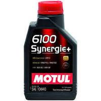 Масло моторное MOTUL 6100 SYNERGIE+ 10W40, 1 л