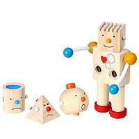 Plan Toys Деревянная игрушка Конструктор робот