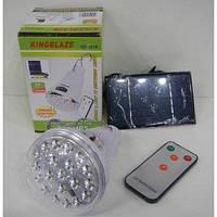 Фонарь  LED Светильник Solar Led Light KINGBLAZE GD-5016 c ДУ + солнечная панель
