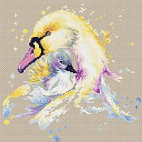 """Набор для вышивания крестиком (животные) """"Лебеди"""""""