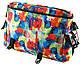 Яркая молодежная сумка из полиэстера Traum 7010-25 разноцветная, фото 2