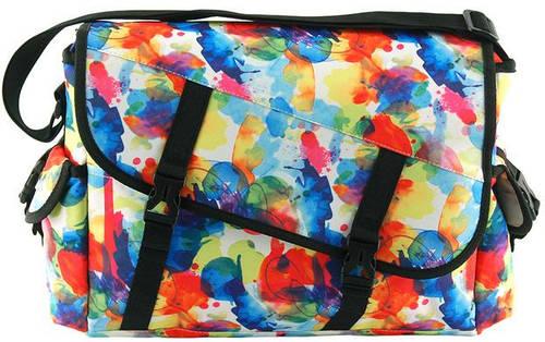 Яркая молодежная сумка из полиэстера Traum 7010-25 разноцветная