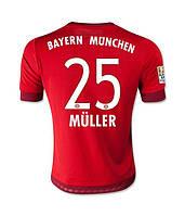 Футбольная форма Бавария 2015-2016 Мюллер Домашняя
