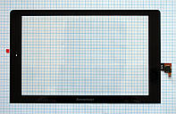 Тачскрин сенсорное стекло для Lenovo B8000 Yoga Tablet 10 black