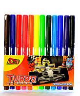 Фломастеры Олли 12 цветов «Turbo»