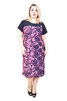 Платье женское батал  Сакура , фото 1