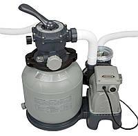 Песочный фильтр-насос Intex (16 кг - 8000 л/ч)