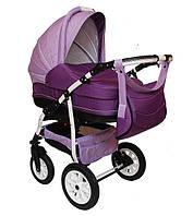Детская коляска 2 в 1 Anmar Zendra фиолетовая
