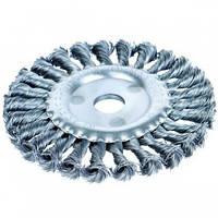 Щетка-крацовка дисковая (стальная) 180х22.2