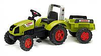 Трактор на педалі з прицепом. Claas Arion FALK 1040B