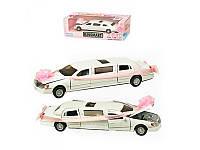 Машинка металлическая Love Limousine Wedding White KT 7001 WW Kinsmart