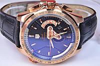 Мужские наручные часы TAG HEUER GRAND CARRERA Calibre 36 RS gold Caliper Quartz Chronograph Man Watches