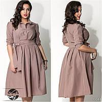Стильное платье с клешеной юбкой БАТ 008 (277)