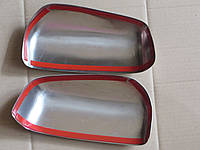 Накладка на зеркала Ford Connect (09 -  ) (форд коннект), нерж