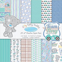 Набор бумаги от Me to You - Tiny Tatty Teddy Boy, 20x20 см, 12 листов