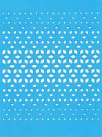Трафарет Фабрика декора — Абстракция 2, 20x15 см, 1 шт