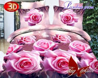 """Комплект постельного белья """"Розовые розы с компаньоном"""""""