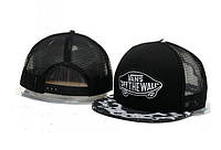Кепка Vans Off The Wall Abstract Snapback Black