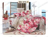 Комплект постельного белья Примавера 3076 двухспальный сатин люкс 4 наволочки