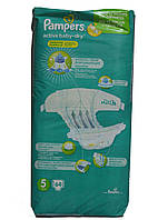 Подгузники Pampers active baby-dry 64 шт (5 11-18 кг)