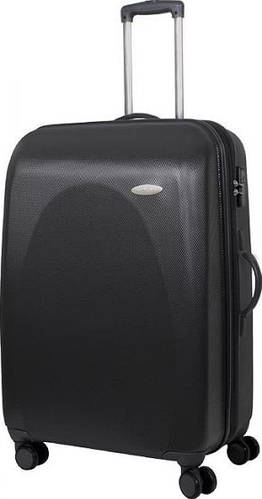 Большой чемодан на 4-х колесах 116/135 л Vip Collection Galaxy 28 Anthracite G.28.grey, антрацит