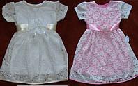 Распродажа красивых детских платьев.