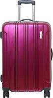 Красивый и удобный чемодан на 4-х колесах 96 л Vip Collection Starlight 28 Violet STL.28.violet, лиловый