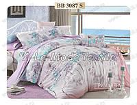 Комплект постельного белья Примавера 3087 двухспальный сатин люкс 4 наволочки