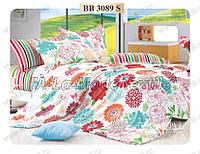 Комплект постельного белья Примавера 3089 двухспальный сатин люкс 4 наволочки
