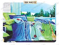 Комплект постельного белья Примавера 3083 евро сатин люкс 4 наволочки