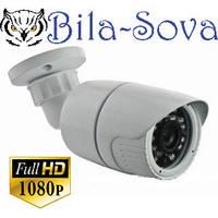 IP-видеокамера TSP-4836FQ с POE, уличная, 2 Mp (1080P), f=3.6мм, ИК до 25 м, Tesla