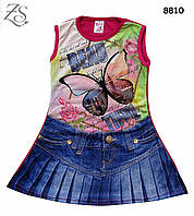 """Летнее платье """"Бабочка"""" для девочки. 5, 6, 7 лет"""