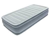 Надувная одноместная кровать Bestway 191x97x36 см. со встроенным электронасосом на 220 Вольт.