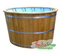 Купель дубовая для бани 800*1400*1000мм.+ полипропиленовая вставка