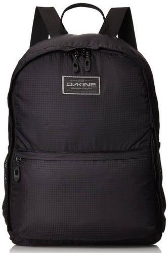 Легкий мужской рюкзак с чехлом для города Dakine STASHABLE BACKPACK 20L black 610934903614 черный