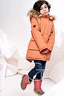 Зимняя куртка  парка для девочки X-Woyz 8236