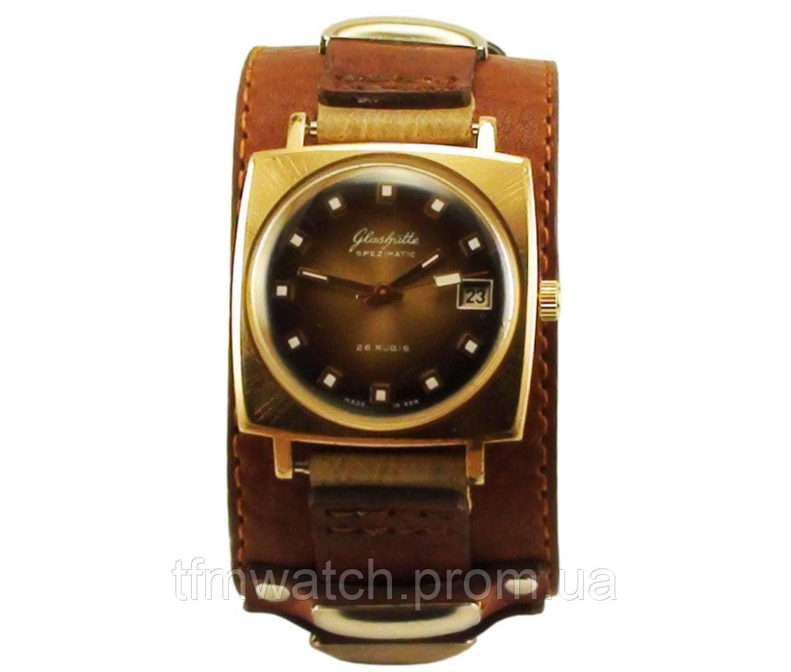 Glashutte spezimatic механические часы made in GDR