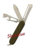 Складные ножи многофункциональный MIL-TEC Spanish Army Pocket Knife OD  15340000