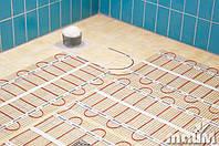 Кабельный мат. Электрический теплый пол