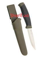 Шведский армейский нож  MORA MIL-TEC Olive 15399101