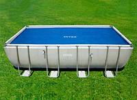 Тент с эффектом антиохдаждение Intex 29026 для прямоугольных каркасных бассейнов
