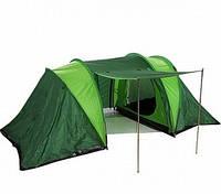 Палатка туристическая TS-4 четырехместная зелёная