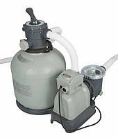 Песочный насос-фильтр Intex (50 кг - 12000 л/ч) для бассейнов серии SAND FILTER PUMP