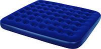 Матрас надувной Bestway 67227 (203х183х22 см) со встроенным ножным насосом