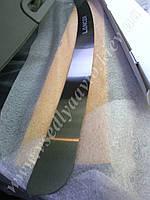 Накладки на бампер Mitsubishi LANCER X 4-дверка с 2007-