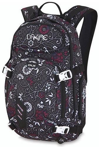 Женский городской рюкзак с креплением борда и лыж, черный Dakine Womens Heli Pack 11L jasmine 610934727388