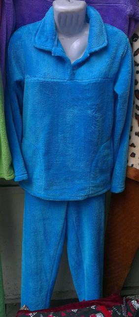 Махровый костюм женский