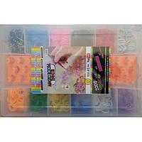 Резинки для плетения браслетов Loom Bands 2200 шт