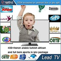 Lead TV пакет арабских и европейских каналов IPTV на 3 месяца